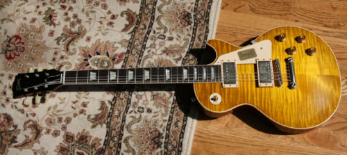 2016 Gibson Custom Shop '58 Les Paul Standard Historic 1958 Reissue Flametop! LP R8