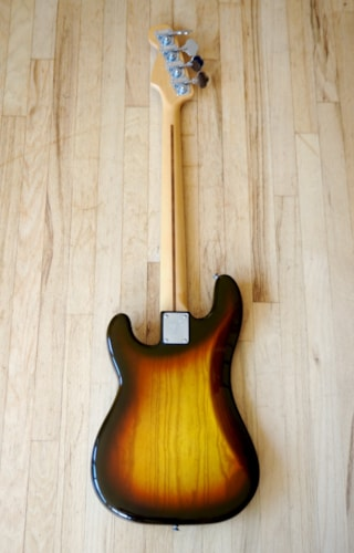1981 Fender® Precision Bass® Vintage Ash Body Maple Neck 100% Original