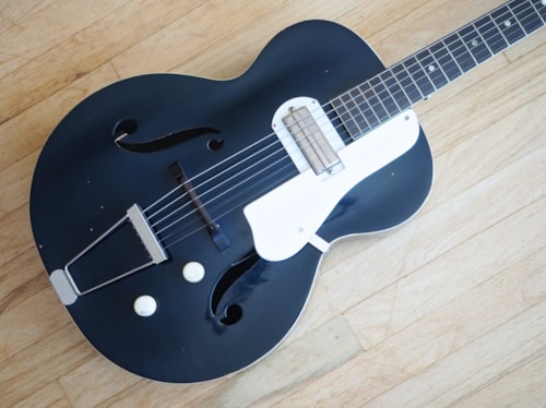 1957 Harmony Roy Smeck H56 Vintage Hollowbody Electric Guitar Gibson P-13