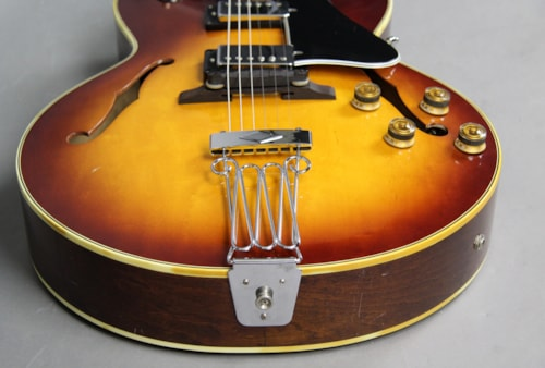 1981 Ibanez FA-100 Archtop Electric Guitar Sunburst Japan ES-175