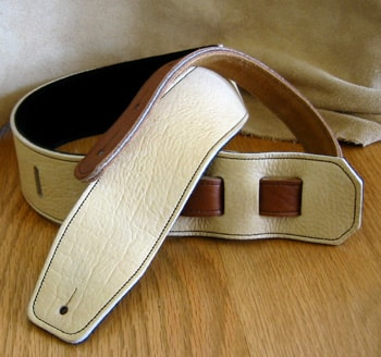 "2016 Italia Leather Straps 2.5"" Vintage Country Suede Backing"