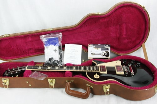 2015 Gibson Les Paul Traditional Classic Limited Edition Ebony Black!