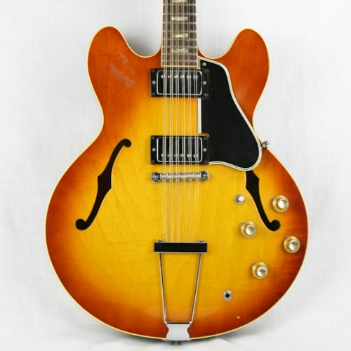 1966 Gibson ES-335 12-string in RARE Iced Tea Sunburst! 100% Original!!!