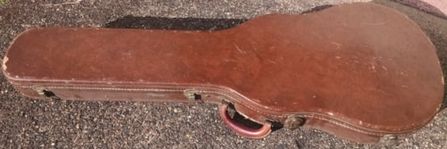 ~1960 Gibson Les Paul Standard Burst case