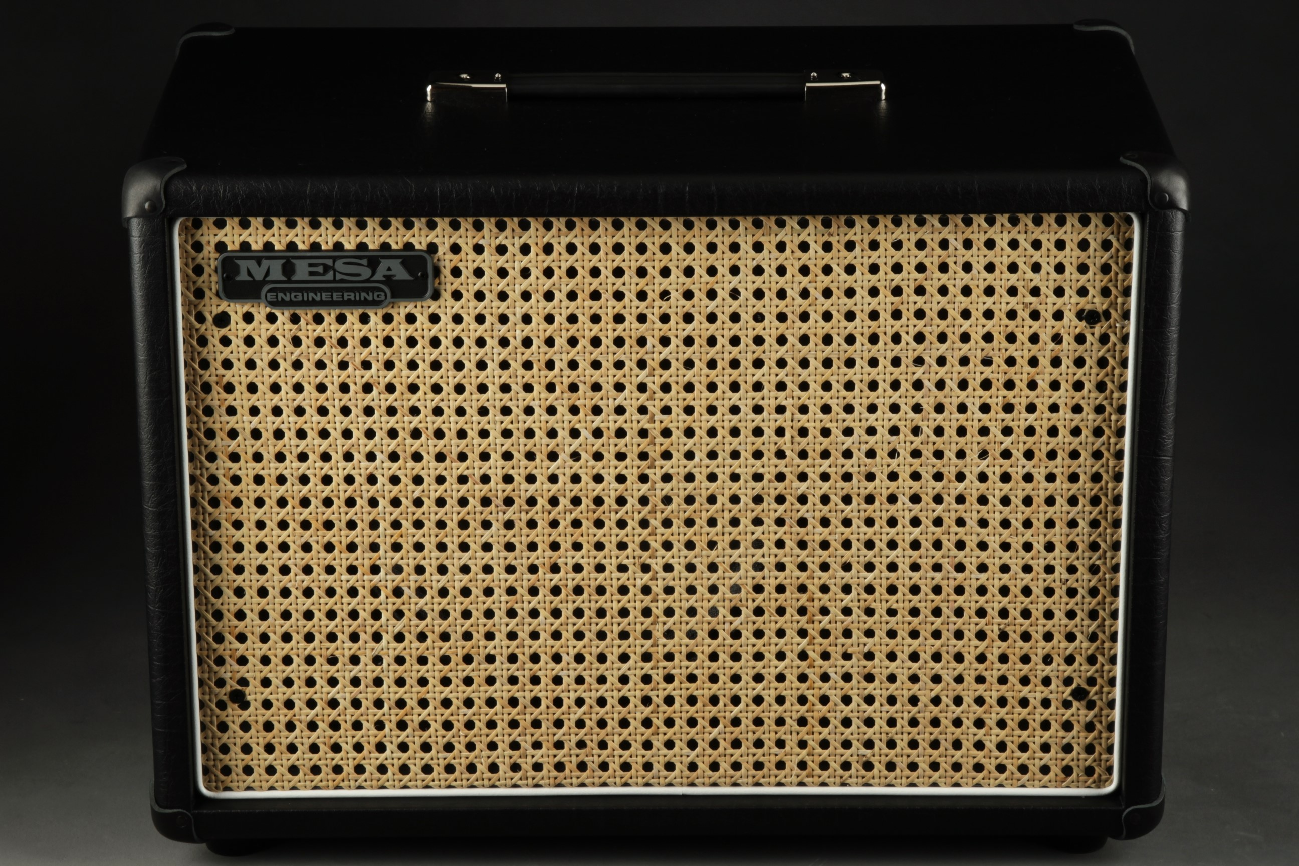 Mesa Boogie 1X12 Widebody Closed Back   Cabinet Wicker Grill/M..
