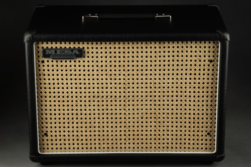 Mesa Boogie 1X12 Widebody Closed Back - Cabinet Wicker Grill/Mesa Engine