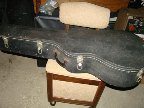 1965 Martin OOO Sized Case, Blue Interior