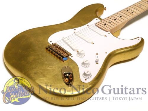 2004 Fender® Custom Shop Masterbuilt Clapton Stratocaster® Gold Leaf by John English