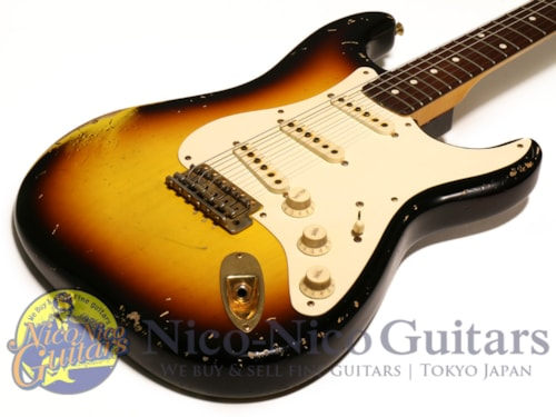 2009 Fender Custom Shop Masterbuilt '59 Stratocaster Heavy Relic by John Cruz