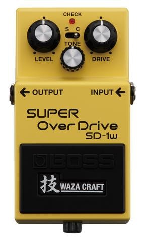 2014 BOSS SD-1W Super Overdrive Waza Pedal
