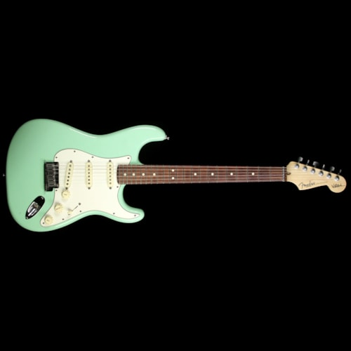 Fender® Used 2013 Fender® Artist Series Jeff Beck Stratocaster® Electric Guitar Surf Green