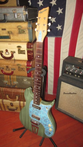 ~1959 Magnatone Mark VIII Solidbody Electric Double pickup