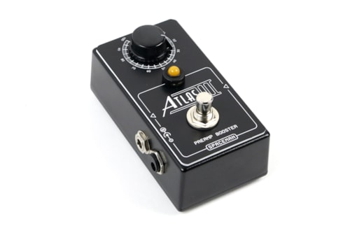 2016 Spaceman Effects  Black Edition Atlas III Preamp Booster
