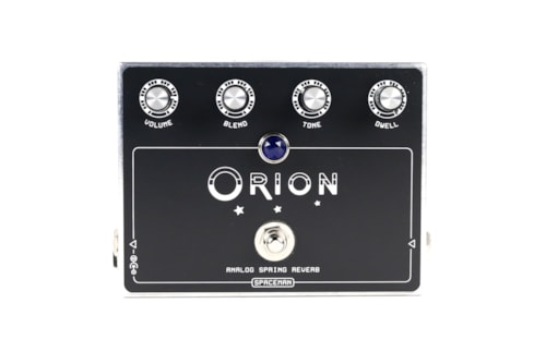 2016 Spaceman Effects  Silver Edition Orion Analog Spring Reverb
