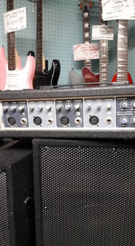 2015 Peavey performer sound system from Fortmadisonguitars.com