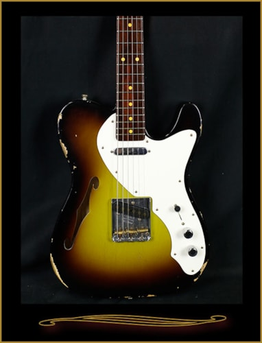 Fender® Custom Shop Limited Edition 50s Tele® Thinline Relic®