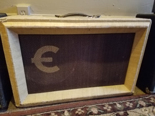 ~1957 Epiphone AMP-10 Dreadnought 2x12 Tube Amp