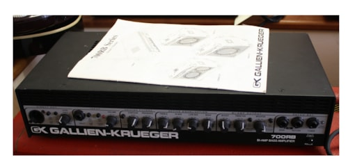 GALLIEN KRUGER 700RB Bi Amp Bass He 700RB Bi Amp Bass Head