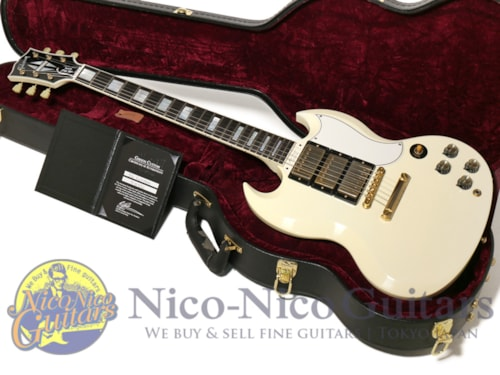 2011 Gibson Custom Shop Historic SG Custom VOS