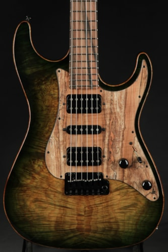 Suhr Standard - Faded Trans Green Burst