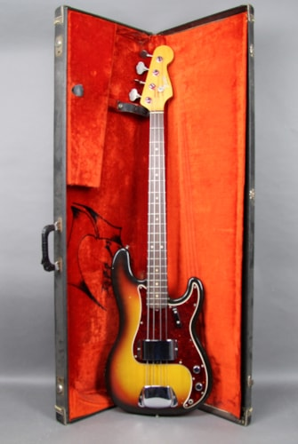 1966 Fender Precision Bass Vintage Electric Guitar Sunburst USA w/OHSC