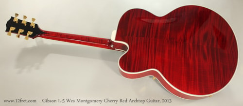 2013 Gibson L-5 Wes Montgomery Custom Shop