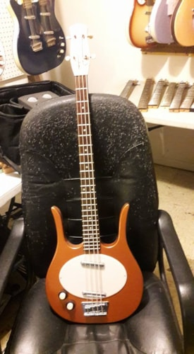Danelectro Copper Bass conversion Longhorn from