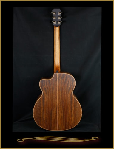 2016 Lowden O-50C Fan Fret in Bastone Walnut with Alpine Spruce Top