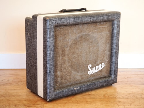 1959 Supro 1614N Spectator Vintage Tube Amplifier Class A 1x8 Valco USA