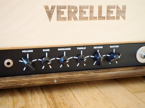Verellen Coop Boutique USA Made 50 Watt Tube Guitar Amplifier Head