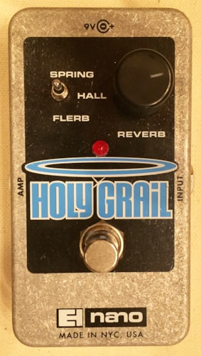 2015 Electro-Harmonix Holy Grail Nano Reverb Guitar Effects Pedal
