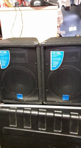 "2015 Gemini 10"" trapazoid speaker system GT-1004"