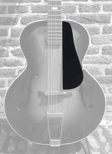 Fox Guitars Epiphone archtop guitar pickguard Olympic Zenith Blackstone