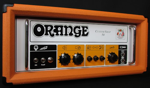 2013 Orange Custom Shop 50