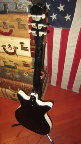 ~1961 Danelectro Model 3021 Jimmy Page DC-2 Double Pickup