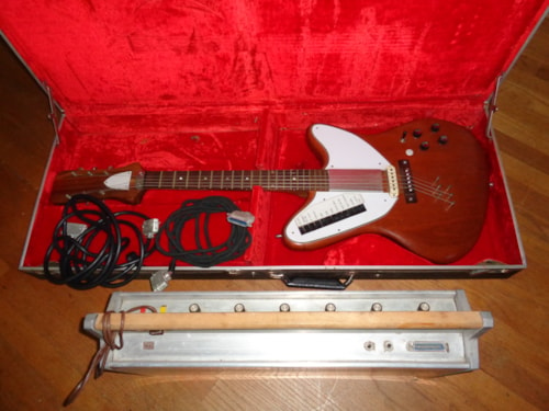 1967 Bigsby Condor Prototype Experimental Guitar 3 Made