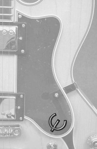 Fox Guitars Epiphone Epsilon E Logo for 1949 or after pickguards