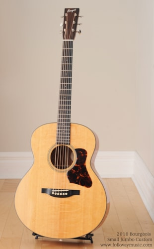 2010 Bourgeois Small Jumbo Custom