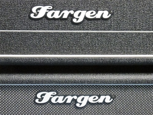 "Fargen Custom Blackbird vs2 head and 2 x 12"" cabinet"