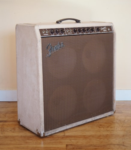 1960 Fender® Concert Brownface Pre-CBS Vintage Tube Amplifier 4x10 Oxford