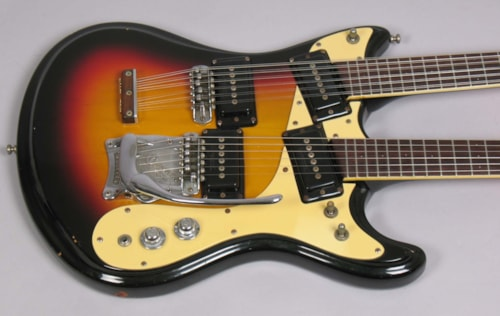 ~1966 Mosrite Joe Maphis Double Neck
