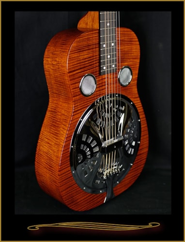 Beard E-Model Basic Squareneck Resonator