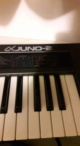 Roland Juno 2 vintage synth from Fortmadisonguitars.com
