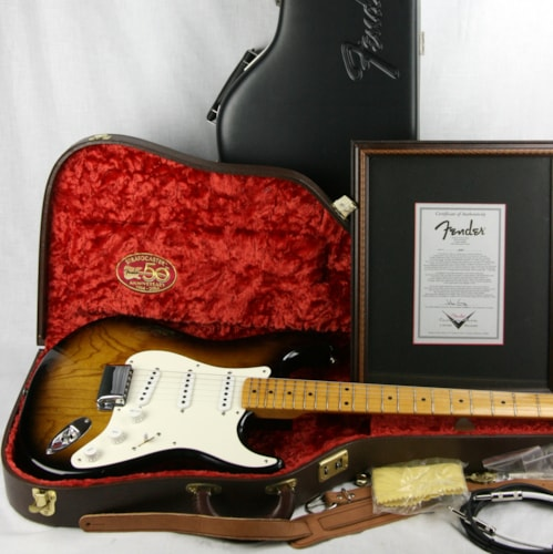 2004 Fender® Masterbuilt JOHN CRUZ '54 Stratocaster® 50th Anniversary Custom Shop 1954