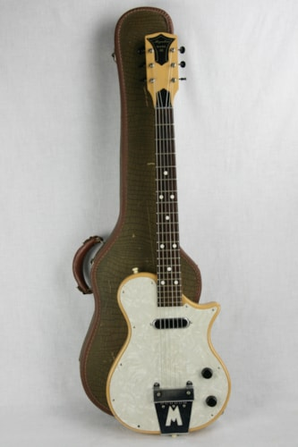 1957 Magnatone Mark III Original Desert Sand Tan! Paul Bigsby design!