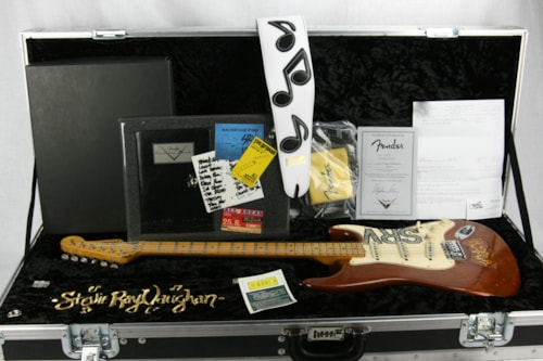 2007 Fender® Custom Shop Masterbuilt SRV LENNY Stratocaster® Tribute Stevie Ray Vaughan Strat® #1