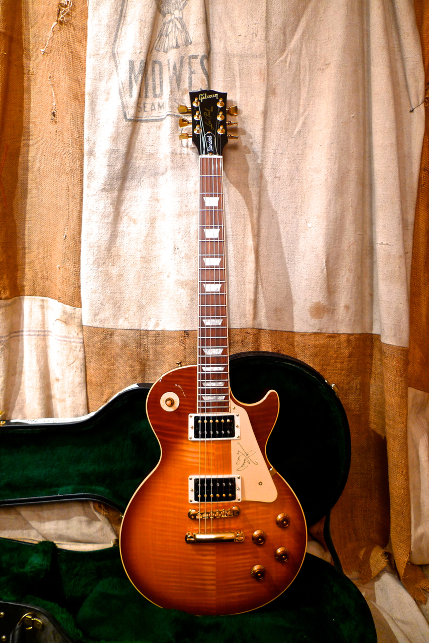 Wiring Money From Bank Ask Answer Diagram Wells Fargo 1996 Gibson Les Paul Standard Jimmy Page Signature Sunburst Gt Guitars Electric Solid Body Transfer Of America To