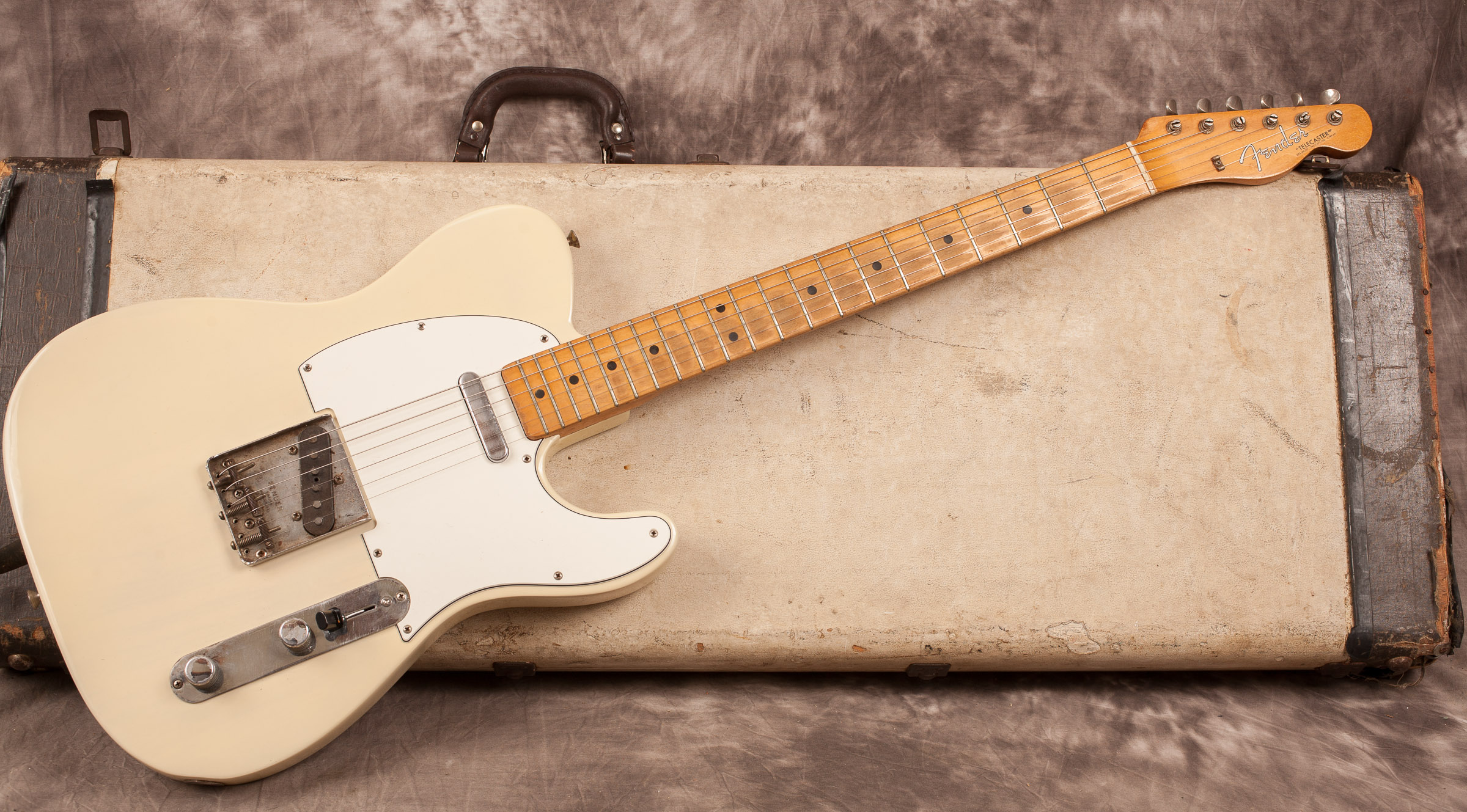 1965 Fender Telecaster Blonde Gt Guitars Electric Solid