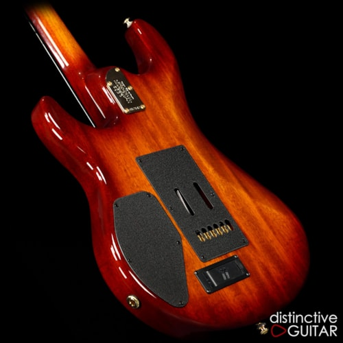 ERNIE BALL MUSIC MAN Luke III Flame Koa