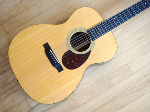 2015 Martin OM-21 Orchestra Acoustic Guitar Near Mint, Spruce & Rosewood